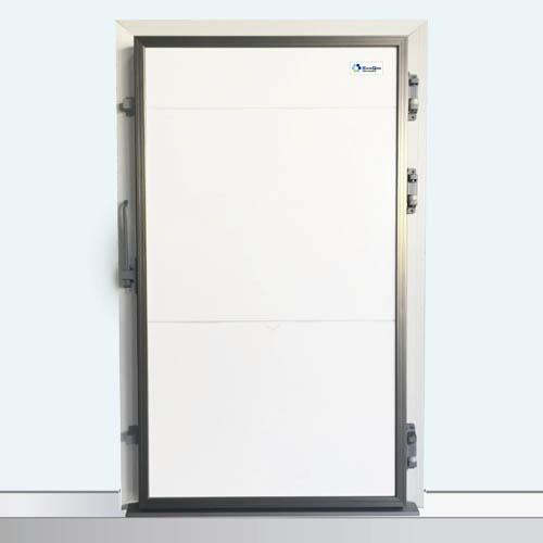 puerta pivotante dp industrial