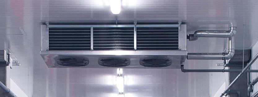 Qué uso tiene el evaporador en una cámara frigorífica | Doorfrig