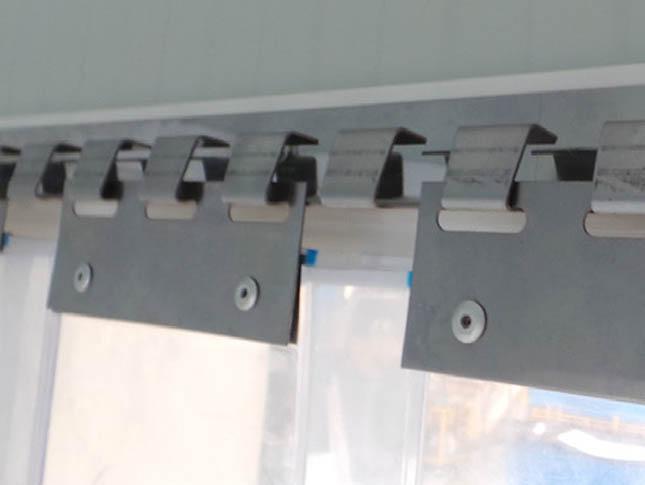 Cortina de lamas de PVC DL1